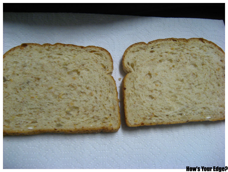 Publish 69 2 Slices Of Bread On A Plate | WSOURCE