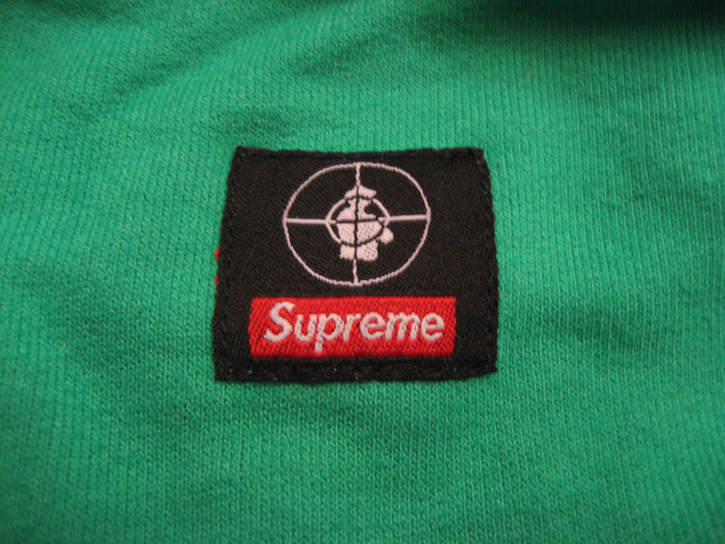 Supreme Public Enemy Crewneck Sweatshirt